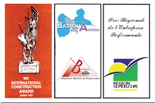 9 ième Prix International de la Contruction